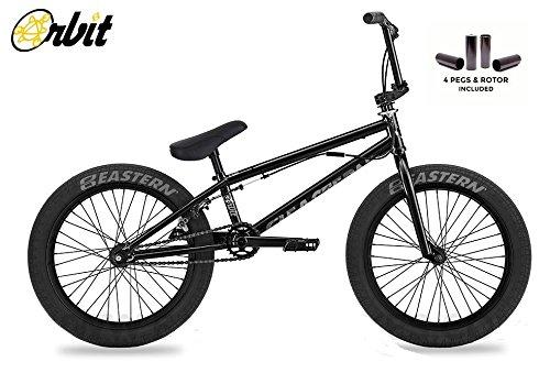 EasternオービットBMXバイク2018自転車ブラック B077NTWH2Z