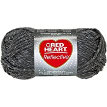 Coats: Yarn Red Heart Reflective Yarn, Grey