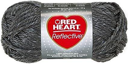 Grey Coats Yarn Red Heart Reflective Yarn