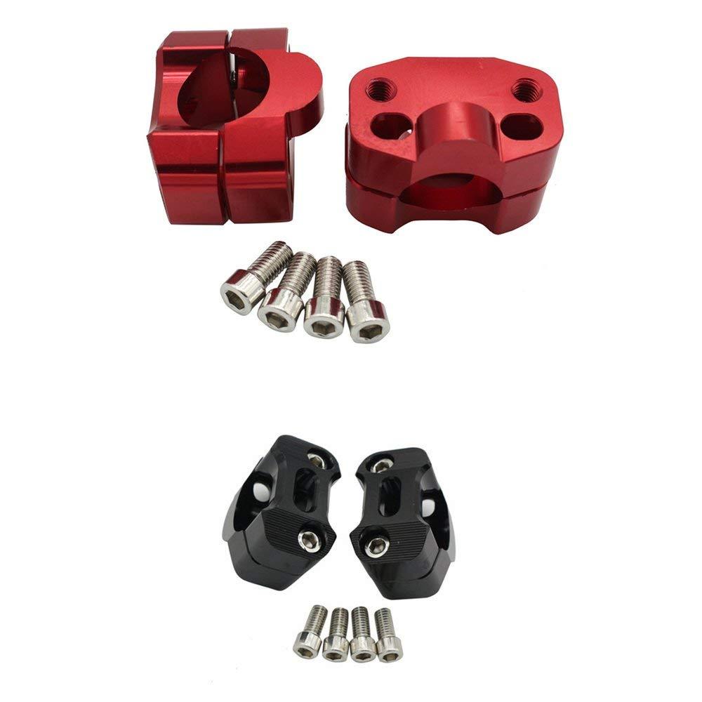 RoadRoma Riser Adattatore per Manubrio in Lega di Alluminio Manubrio Conico per Grasso 1 1//8 Pollici 28Mm Nero