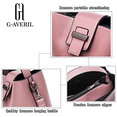 (G-AVERIL) 2018 pell Borsa Donna 2018 borsebag Tote a Spalla Tracolla Shoulderbag Top-Handle