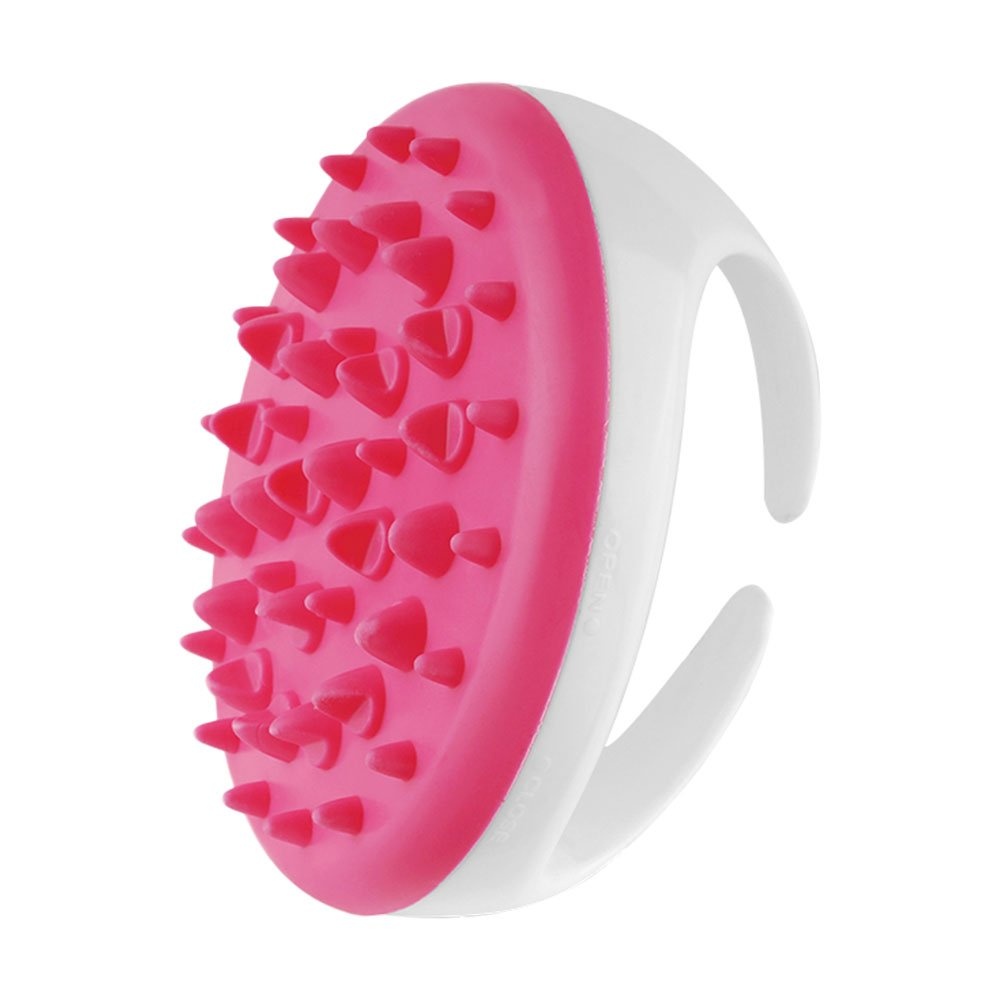 HuntGold Body Message Brush, 1Pc Partable Handheld Anti Cellulite [Clear Dead Skin Cell] Full Body Massage Brush Slimming Beauty Massager Random Color