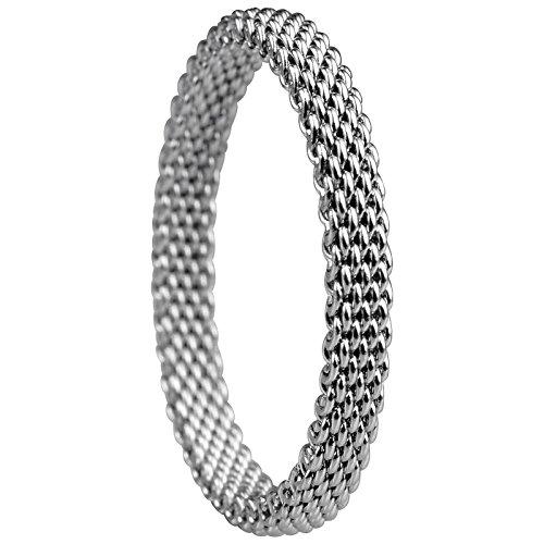 Bering kombinationsring acier inoxydable/rG 54,5 525–17–73 551–10–71 milanaise métal