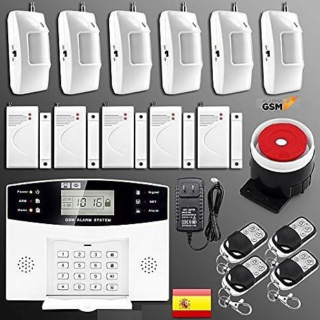 Alarma GSM para hogar casa o negocio sin cuotas inalámbrica ...