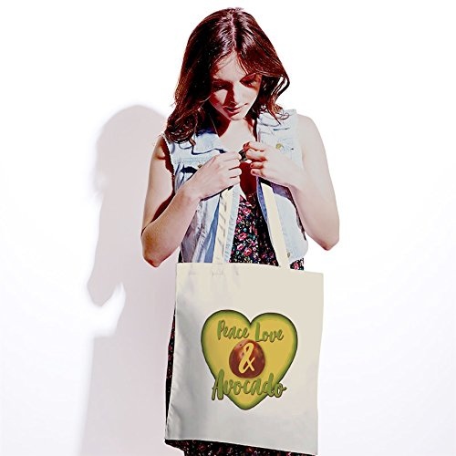 White Love White Tote amp; Bag Avocado Peace Uqpw6
