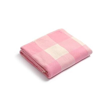 Amazon.com: FOREVER-YOU - Manta de punto de algodón para ...