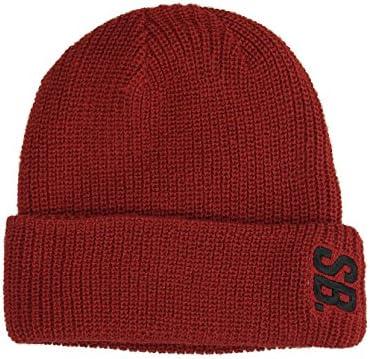 270c5221 Amazon.com: Nike SB Surplus Beanie (Dark Cayenne/Black): Sports & Outdoors