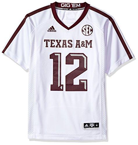 adidas NCAA Texas A&M Aggies Adult Men Premier Football Jersey, XX-Large, ()
