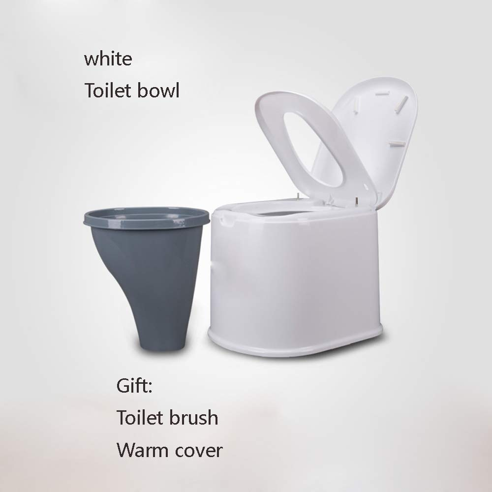 Bewegliche Bewegliche Toilette Erweiterte Erhöhten Älteren Erwachsenen der Erwachsenen Frauen des Plastiktoilettensitzes,C