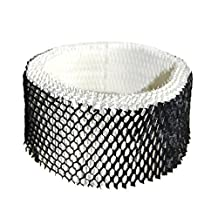 HQRP Wick Humidifier Filter for Sunbeam #SWF-62 / SWF62; SF-212 / SF212 / SF212PDQ-UM Cool Mist Filter Replacement + HQRP Coaster