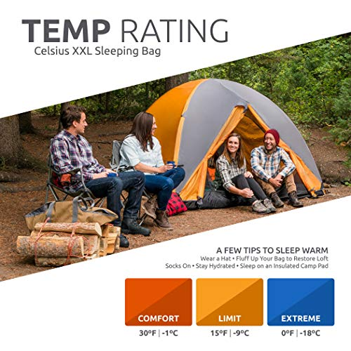 TETON Sports Celsius XXL Sleeping Bag