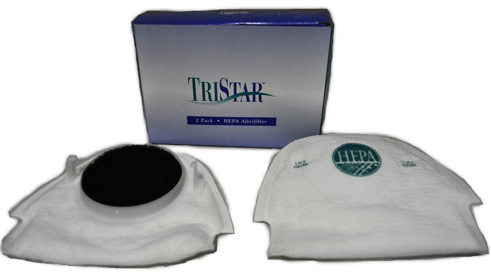 TriStar HEPA Exhaust Afterfilter for Models EXL, MG1, MG2, 2 Pack