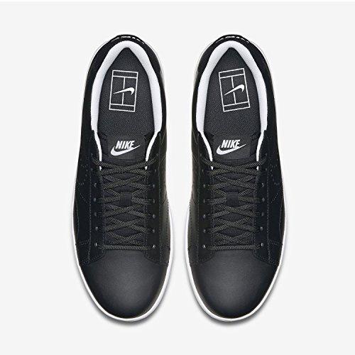 NIKE Mens Tennis Classic Ultra Lthr Casual Shoe Black White 001 DjJiTDnVo