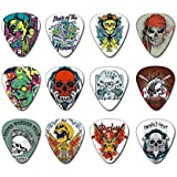 SOACH guitar picks musical instruments thickness 0.71mm plectrum two sides colors 10-pack