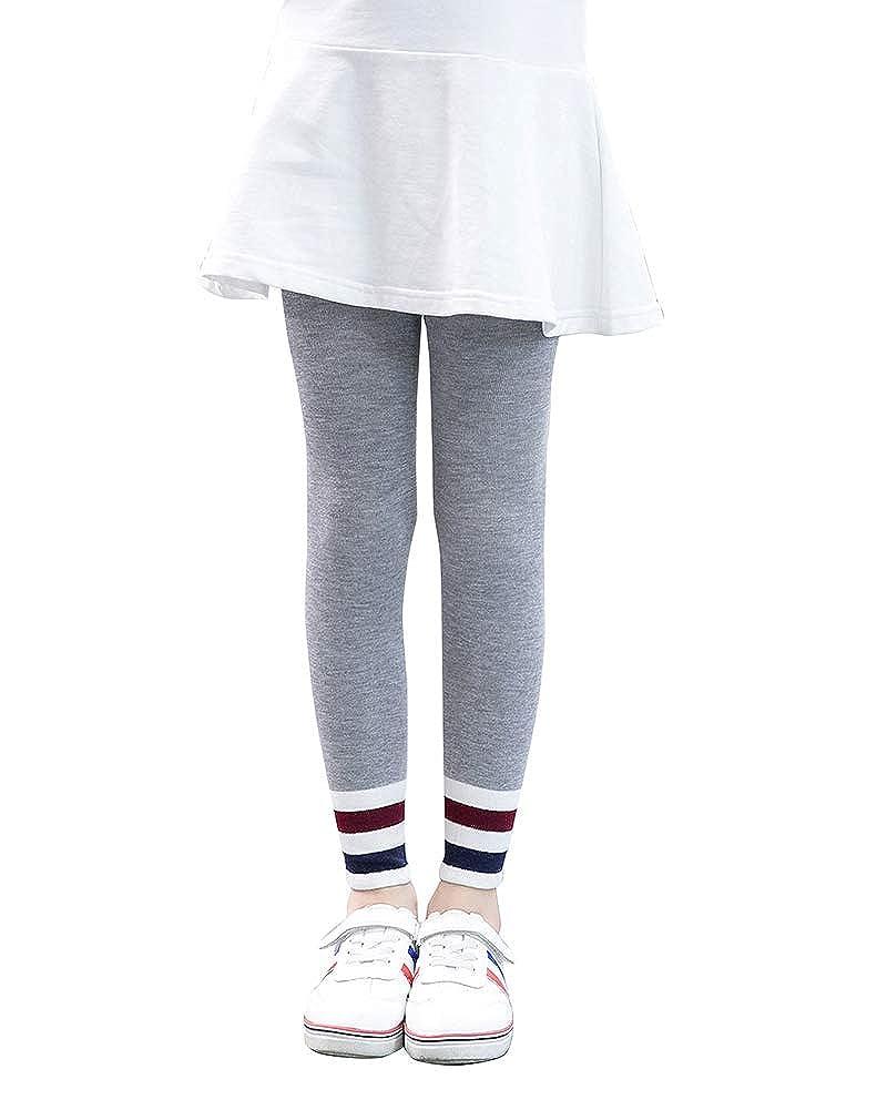 Suncaya Leggings Bambina Inverno Caldo Lunghi Fino alle Caviglie per Ragazze Elastico Pantaloni