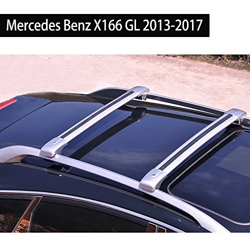 Roof Racks Cross Bar for Mercedes Benz X166 GL 2013-2017 Baggage Luggage Roof Rack Rail Crossbar