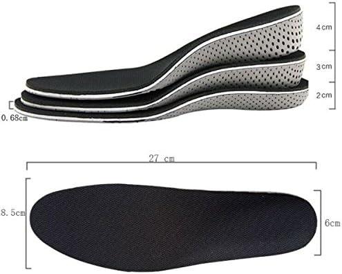 Atmungsaktive Unsichtbar Erhöht Einlegesohlen Schuh Pad Schuheinlagen