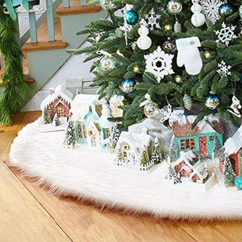 Surfmalleu Navidad Decoración Largo Suave de Árbol: Amazon.es: Hogar