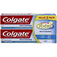 Colgate Total Whitening 6oz Toothpaste Twin Pack