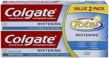 2-Pack Colgate Total Whitening Toothpaste