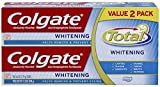 #4: Colgate Total Whitening Toothpaste Twin Pack (6oz Tubes Each)
