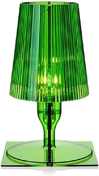 Kartell Take Lampada Da Tavolo Verde Amazon It Illuminazione