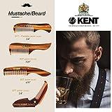 Kent 87T Pocket Comb Beard Comb for Mustache and