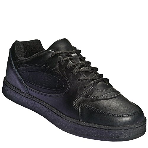 BENEFIT WEAR Mens oder Womens Lace Sneaker Shoe- Wide Schwarz