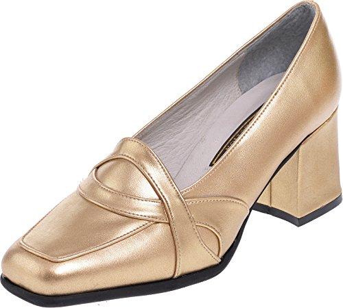 LEXUS - Sandalias de vestir para mujer dorado - Gold P.U