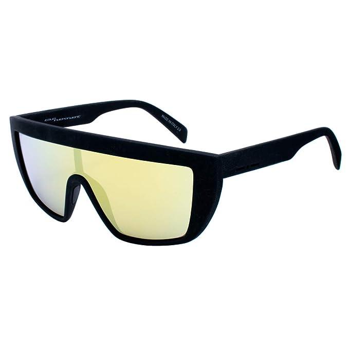 italia independent 0912-009-000 Gafas de Sol, Negro, 122 ...