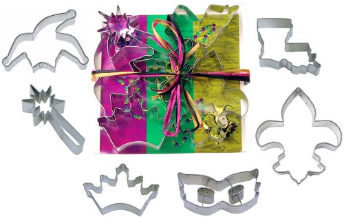 mardi gra mask cookie cutter - 9