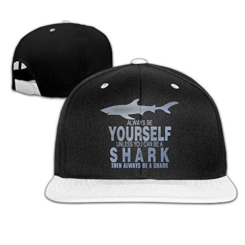Price comparison product image Always Be Yourself Shark Unisex Baseball Caps Hats headgear