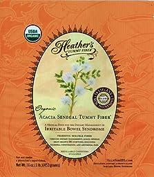 Heather\'s Tummy Fiber POUCH Organic Acacia Senegal (16 oz) for IBS