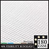 Royal Shade 4' x 101' White Fence Privacy Screen