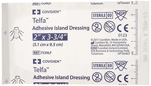 Covidien (n) Telfa Island Dressing 2 X3-3/4 Bx/50 Latex-Free