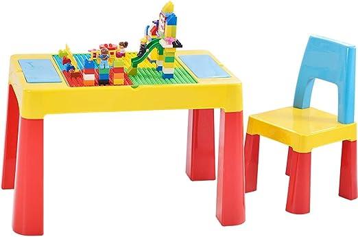 Juegos de mesas y sillas Juego de Mesa y Silla para niños Bloque ...