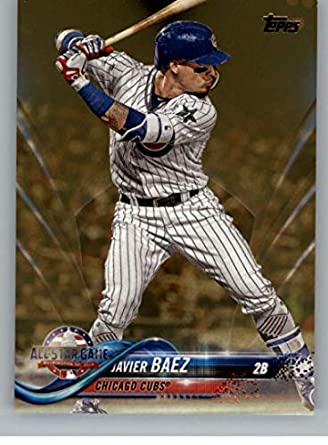 best service da1e5 b9d79 Amazon.com: 2018 MLB Topps Update Gold SER2018 US119 Javier ...