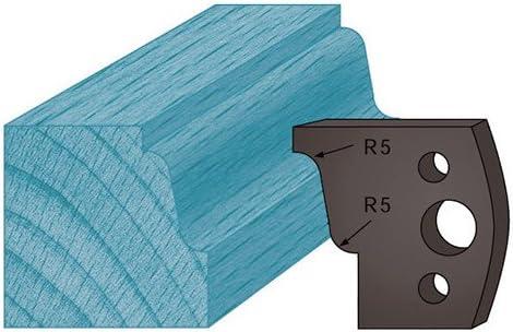 38 x 4 mm doucine A31 pour porte-outils de toupie Jeu de 2 contre-fers profil/és Ht Diamwood Platinum Diamwood Platinum