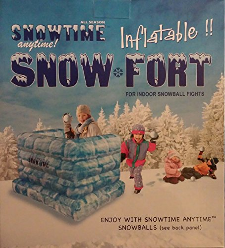 Snowtime Anytime Blow-up Snow Fort by KM INNOVATIONS ()