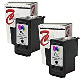 PS Products TM Remanufactured Ink Cartridge Replacement for Canon PG-240XL High-Yield (2 Black) (Show Accurate Ink Levels)