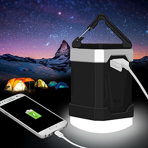 Camping Lantern 5 Modes 13000mAh Portable LED Emergency Lantern Power Bank IP65 Rechargeable Camping Equipment Flashlights for, Hiking,Hurricanes, Storms, -