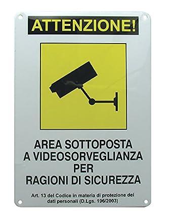 Avidsen 123500 - Cartel de Zona videovigilada.: Amazon.es ...