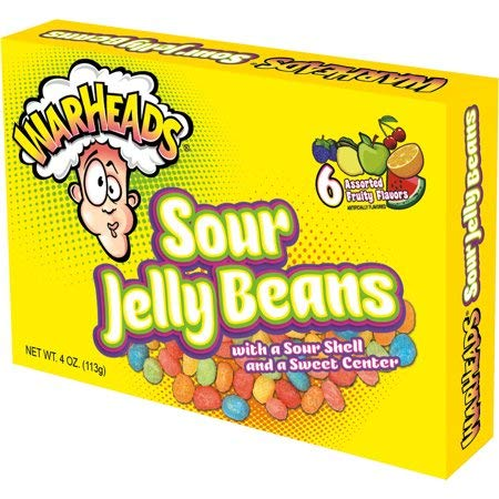 Warheads Sour Jelly Beans 4 oz (1 Pc) -