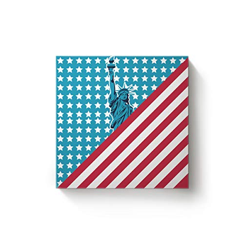 YEHO Art Gallery The Flag of America Statue