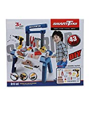 Smart Tools Deluxe Tool Set With Drill For Kids - 43 Pieces