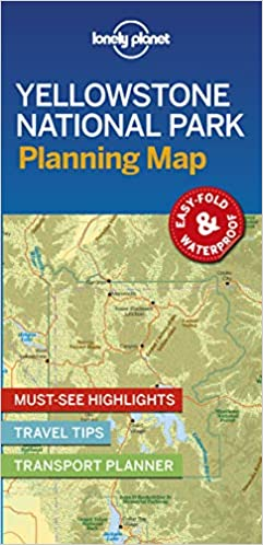 Lonely Planet Yellowstone National Park Planning Map 1st Ed ...