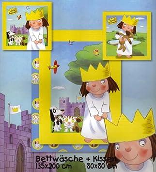 Kleine Prinzessin Bettwäsche Am Schloß 135x200cm Amazonde Spielzeug