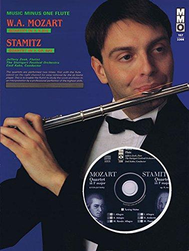 - Mozart - Quartet in F Major, Kv370; Stamitz - Quartet in F Major, Op. 8, No. 3: Flute Play-Along Pack (Music Minus One (Numbered))
