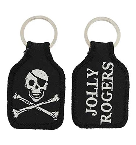 (Embroidered Emblem Key Chain - United States US Army - Ranger Skull Mess w/)