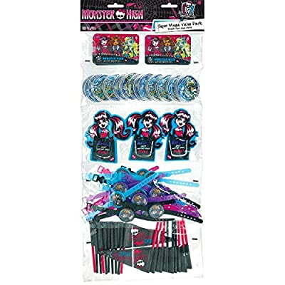 Monster High Favors Party Supplies | Party Favor | Pack of 100: Toys & Games